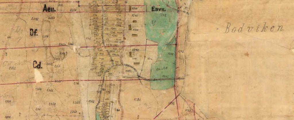Laga skifte 1889