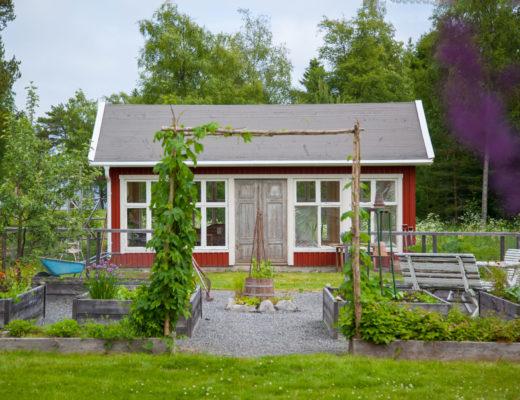 Växthus framifrån