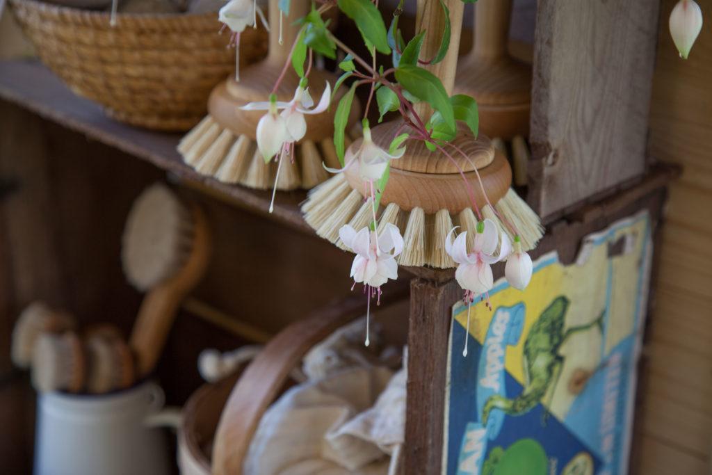 Badkarsborstar och Fuchsia