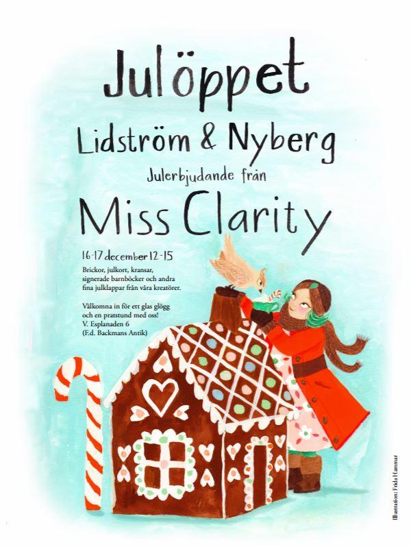 Affisch Julmarknad