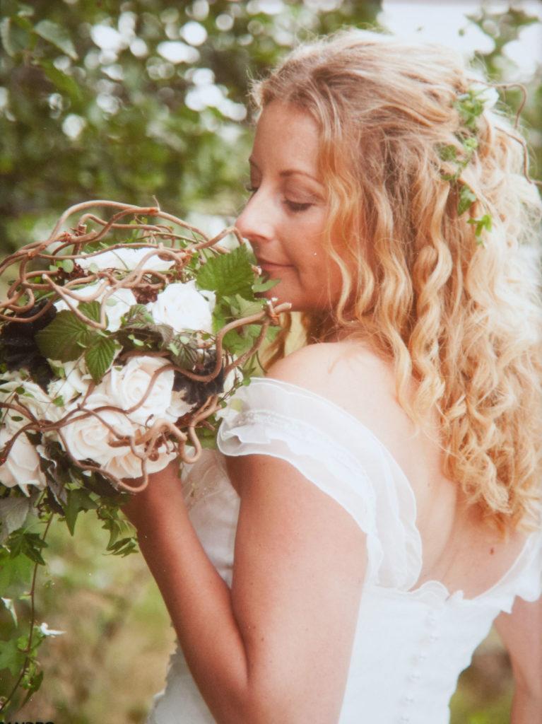 Jag och brudbuketten