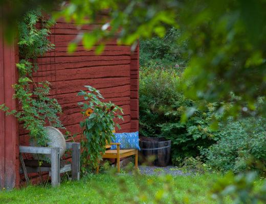 Sittplats vid ladugården