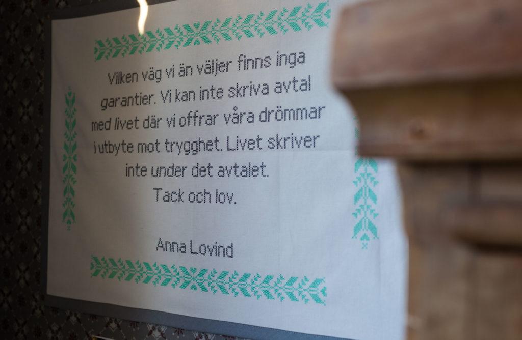 Citat Anna Lovind